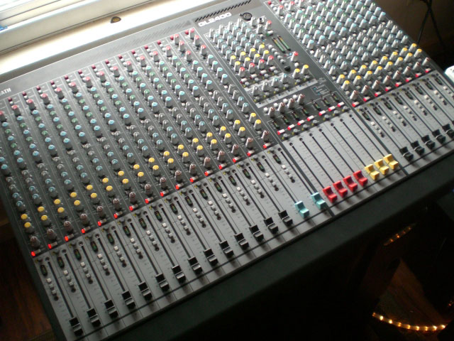 Audio Analog Mixers